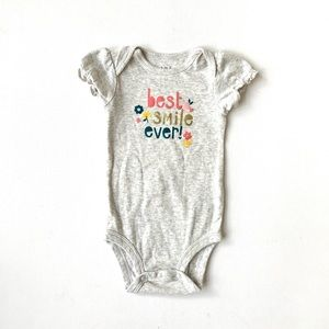 3/$25 Carters Baby Girl Graphic Onesie